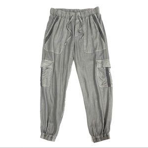 Cloth & Stone Gray Cargo Jogger size XS
